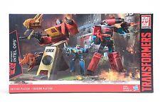 Transformers G1 Platinum Edition Autobots Inter Ops BLASTER & PERCEPTOR Gift