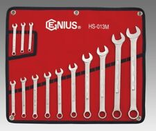 Genius Tools 13pc Metric Combination Wrench Set HS-013M