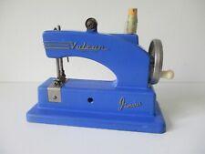 Toy Child's sewing machine Vulcan Junior blue version