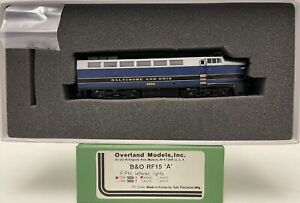 Brass H0 Overland Models OMI-5658.1 BALTIMORE AND OHIO B&O RF15 A #4200
