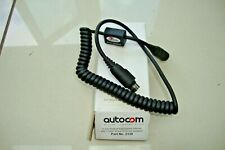 AUTOCOM 2130 COILED EXTENSION LEAD WITH 3.5mm SOCKET FOR IN-EAR SPEAKERS
