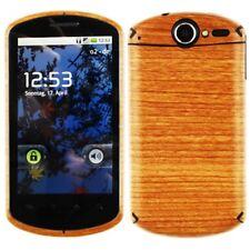 Skinomi Light Wood Full Body Skin+Screen Protector Cover for Huawei Impulse 4G