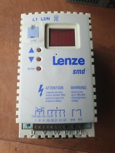 LENZE ESMD551X2SFA single phase to 3 phase frequency Inverter