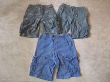 Lot, 3 mens size 28 Mossimo khaki cargo shorts