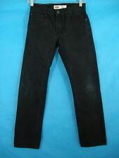 Black Skinny Jeans Levi's 511 Slim Boy's Youth 12 26W 26L Pants Kids School
