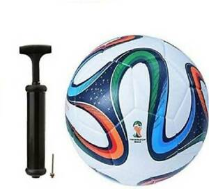 Buy SBS Brazuca 4 Color Football With Air pump, (Football Kit)
