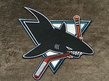 Rare 1990's San Jose Sharks Hockey Iron On Hoodie Jacket Logo Patch Crest