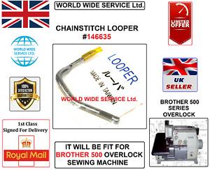 BROTHER 500-SERIES OVERLOCK CHAINSTITCH LOOPER #146635 INDUSTRIAL SEWING MACHINE