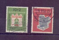Bund 1953 - IFRABA - MiNr. 171/172 rund gestempelt - Michel 55,00 € (638)