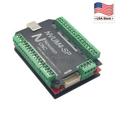CNC Stepper Motor Driver 4 Axis USB MACH3 Card 100KHz Motion Controller Board US