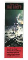 Moon Landing Gift NASA Bookmark Planet Solar System Space Shuttle Astronaut