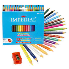 NEW 18 ct Mini Color Pencils with Sharpener