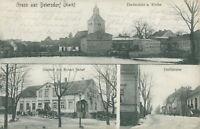 Ansichtskarte Beiersdorf um 1900 Dorfansicht Gasthof Dorfstrasse  (Nr.812)