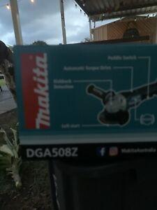 "Makita DGA508Z 18V Li-ion Cordless Brushless 125mm (5"") Angle Grinder - DGA508"
