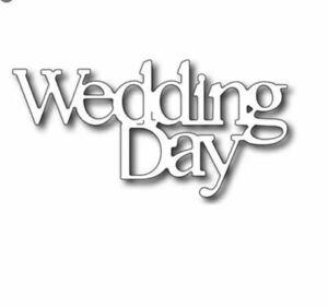Wedding Day Metal Die Cutter