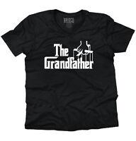 Grandfather Funny Grandpa Birthday Gift Idea V-Neck Tee Shirts T-Shirt For Mens