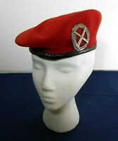 GERMAN ARMED FORCES RED BERET, FIELD ARTILLERY