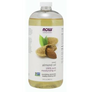 Now Foods Sweet Almond Oil - 32 Oz. made in USA FREE SHIPPING
