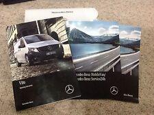 Mercedes Vito Propietarios Manual Manual Y Paquete De 14-17 Inc cartera refm 95
