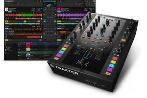 Native Instruments Traktor Kontrol Z2 DJ Mixer + Timecode Vinyl +*TRAKTOR PRO 3*