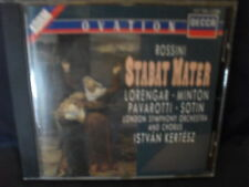 Rossini – Stabat Mater  -Lorengar / Minton / Pavarotti / Sotin / Kertesz / The L