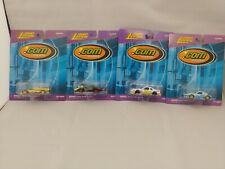 Johnny Lightning .Com Racers Lot of 4 Yahoo, Playing Mantis, CBS, Bikini.com NOC