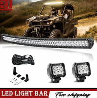 "42"" Combo Curved Led Light Bar Fit Dodge Ram 1500 Pioneer Cruiser Can Am UTV"