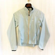 Pearl Izumi light blue full zip lightweight cycling jacket women's size small s
