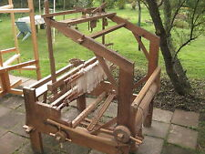 Antique XIXc. Large Sweden floor weaving loom