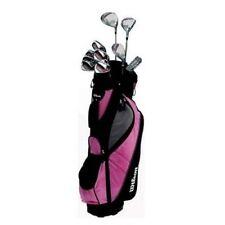 Wilson Golf 1200GE Femme Main Droite Graphite/Acier Clubs de golf Set + Sac