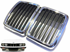 BMW E30 1981 - 1994 FRONT GRILLE BLACK / CHROME GRILL 51131884350