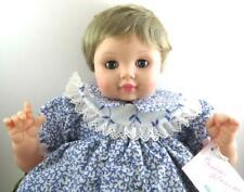 Madame Alexander Allison Baby Doll #5504 Blonde Hair Blue sleepy Eyes HTF