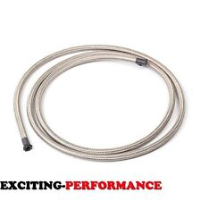 AN4 4-AN Silver STAINLESS STEEL/NYLON BRAID OIL/FUEL LINE/HOSE 20 FOOT/FEET