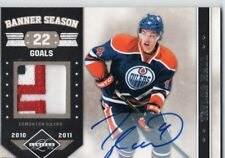 11-12 Pannini Limited Prime Banner Season Taylor Hall Auto/Patch /15