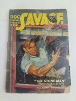 Doc Savage October 1939 Pulp Magazine