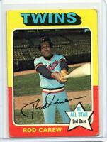 Rod Carew 1975 Topps #600
