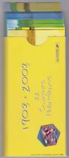 INTEGRALE DES 22 SOUVENIRS PHILATELIQUES DU TOUR DE FRANCE 2003 DANS LEUR ETUI