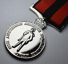 80th Anniversary Armistice Remembrance Medal. Full Size Replica. ANZAC. Silver