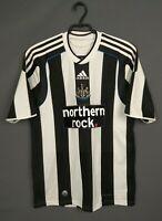 Newcastle United Jersey 2009 2010 Home SMALL Shirt Soccer Football Adidas ig93