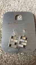 Mother of Pearl earrings and bangle set from Australia