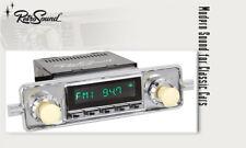 For VW Beetle 1958-67 Vintage Car Radio DAB+ UKW USB Bluetooth Aux-In Elfenbein