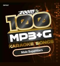 Zoom Karaoke 100 MP3+G Male Superstars - DVD-ROM - needs Computer / MP3+G player