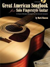Great American Songbook Solo Fingerstyle Guitar Play Country TAB Music Book CD