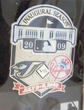 2009 Yankee Stadium 1st Toronto Blue Jays vs NY N.Y. New York Yankees lapel  pin