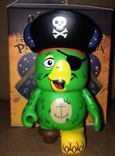 "Parrot CHASER w Hat 3"" Vinylmation Pirates of the Caribbean Series #2 Pegleg"