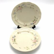 Lot of 2 Pfaltzgraff Tea Rose Salad Plates 7 3/8 inch Dia Replacements