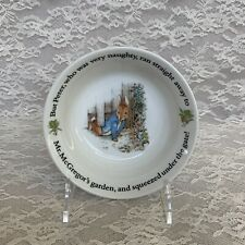Wedgwood, Beatrix Potter The Classic Collection Peter Rabbit Cereal Bowl, 2010