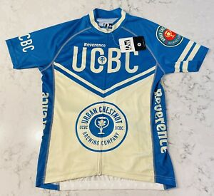 DW Custom Cycling Apparel Jersey - Men's L (New) URBAN CHESTNUT BREWING COMPANY