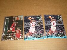 Topps Stadium Club MEMBERS ONLY MICHAEL JORDAN LOT OF 3 BULLS