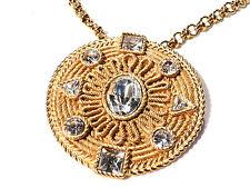 Bijou alliage doré collier sautoir pendentif Balenciaga  necklace